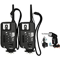 PIXEL FSK 2.4GHz Wireless Shutter Flash Trigger Transceiver-professional Two Modes Release Remote Control for Canon DSLR Digital Camera Opasx2pcs