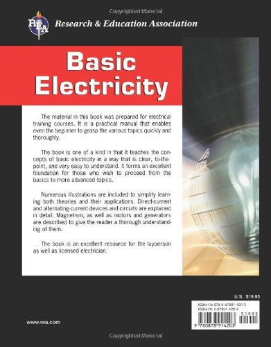 Basic Electricity: U. S. Naval Personnel, The Editors of REA ...