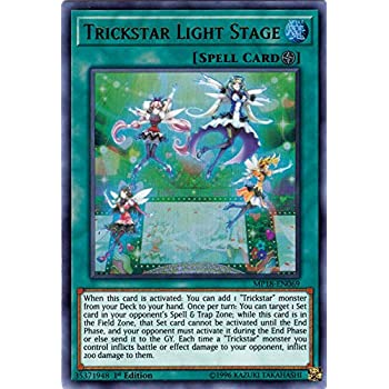 Ultra Rare Card Yu-Gi-Oh TCG Unlimited Ed Trickstar Divaridis SAST-EN049