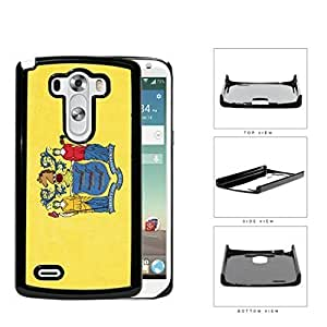 New Jersey State Flag Hard Plastic Snap On Cell Phone Case LG G3 by icecream design