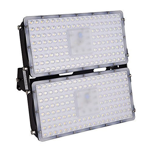 Viugreum 200W LED Flood Lights,Waterproof IP65 for outdoor, 18000LM Warm White(2800-3000K) Security Lights,Floodlight Landscape Spotlights Wall Lighting for Garage,Garden,Lawn,Yard (Ship from USA) by Viugreum