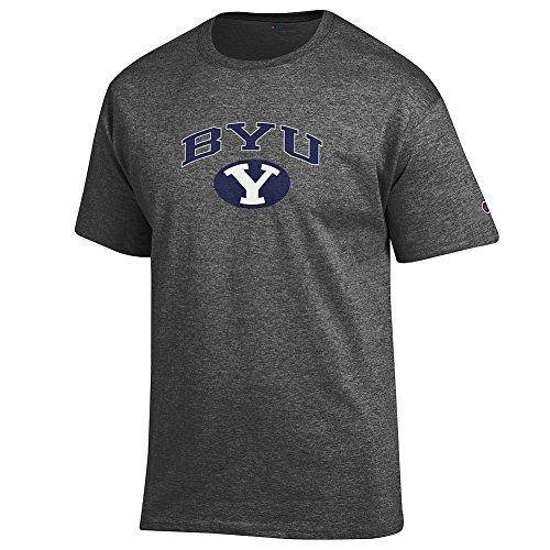 Mens Young Apparel (Elite Fan Shop BYU Cougars Tshirt Varsity Charcoal - M)