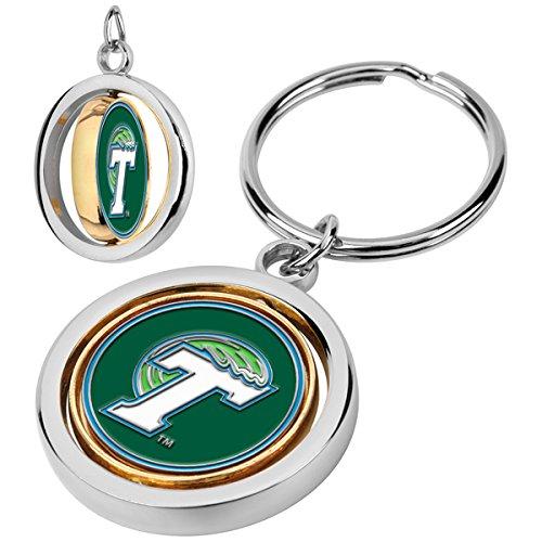 LinksWalker NCAA Tulane University Green Wave - Spinner Key Chain