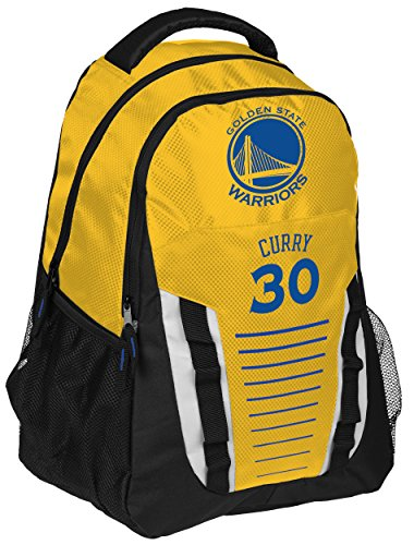 (Golden State Warriors Curry S. #30 Stripe Franchise Backpack)