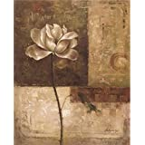 The Perfect effect Canvas of oil painting 'a Purple Flower' ,size: 30x64 inch / 76x162 cm ,this High quality Art Decorative Canvas Prints is fit for Hallway artwork and Home decoration and Gifts
