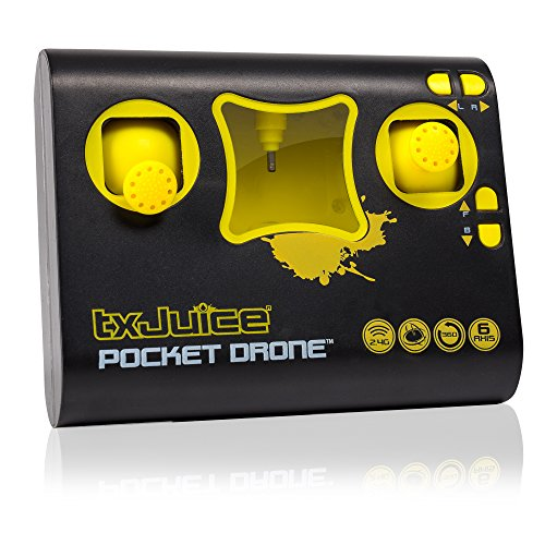 TX Juice Ai Pocket Drone - Quadcopter with Patented Ai for Auto take off, Auto Hover and One Thumb Control