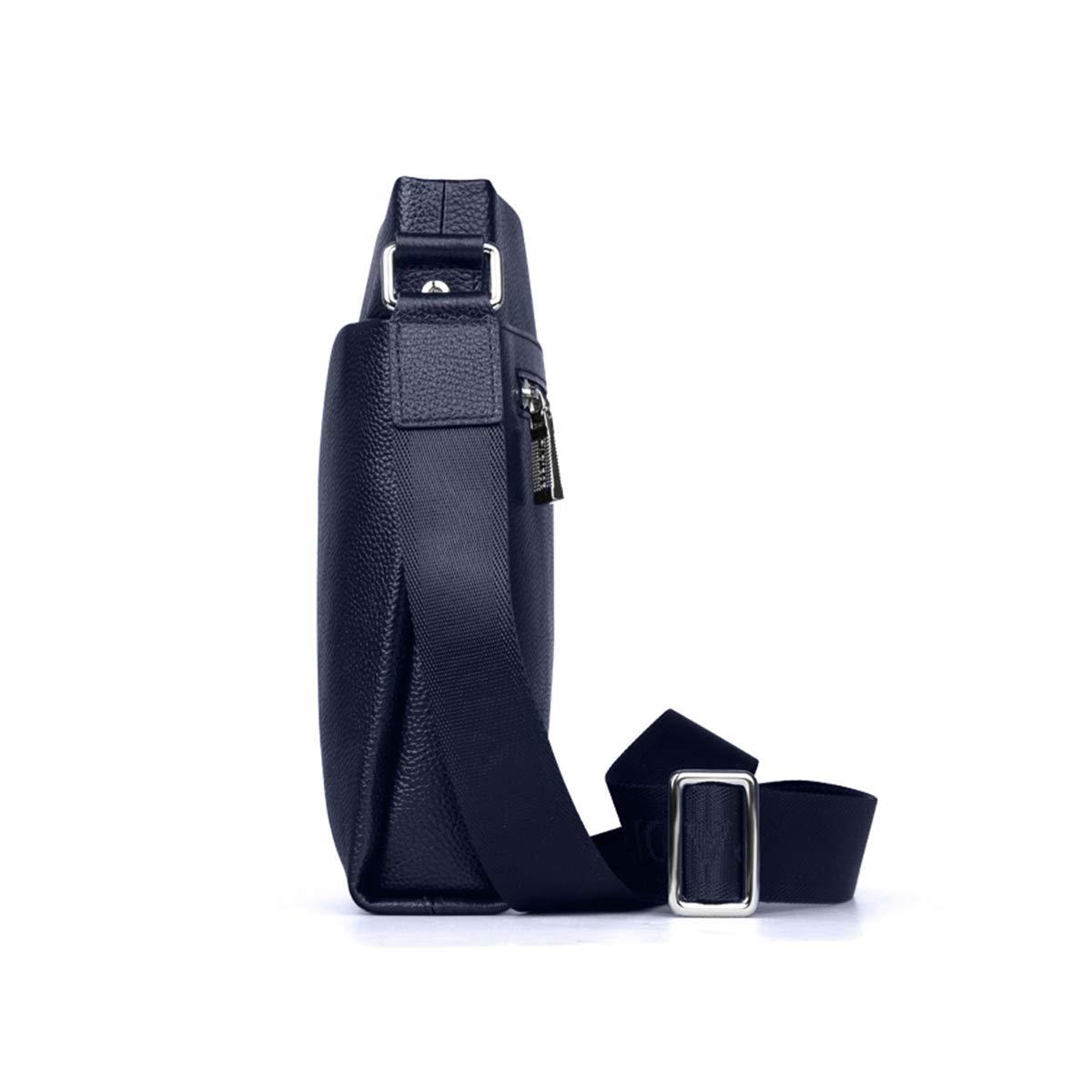 men bag messenger and crossbody bag shoulder bags leather business waterproof Compartment Adjusting the shoulder strap