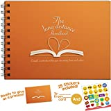 Love book + Stickers - The Long Distance Handbook, 24 Pages with Matching Card - Activities, Tips, Ideas for Couples and Dating Advice. Creative Memories!
