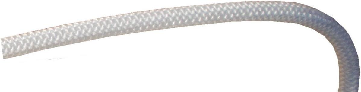 aus Polypropylen in Wei/ß oder Schwarz erh/ältlich Schwarz Seil 10 m 10/mm dick