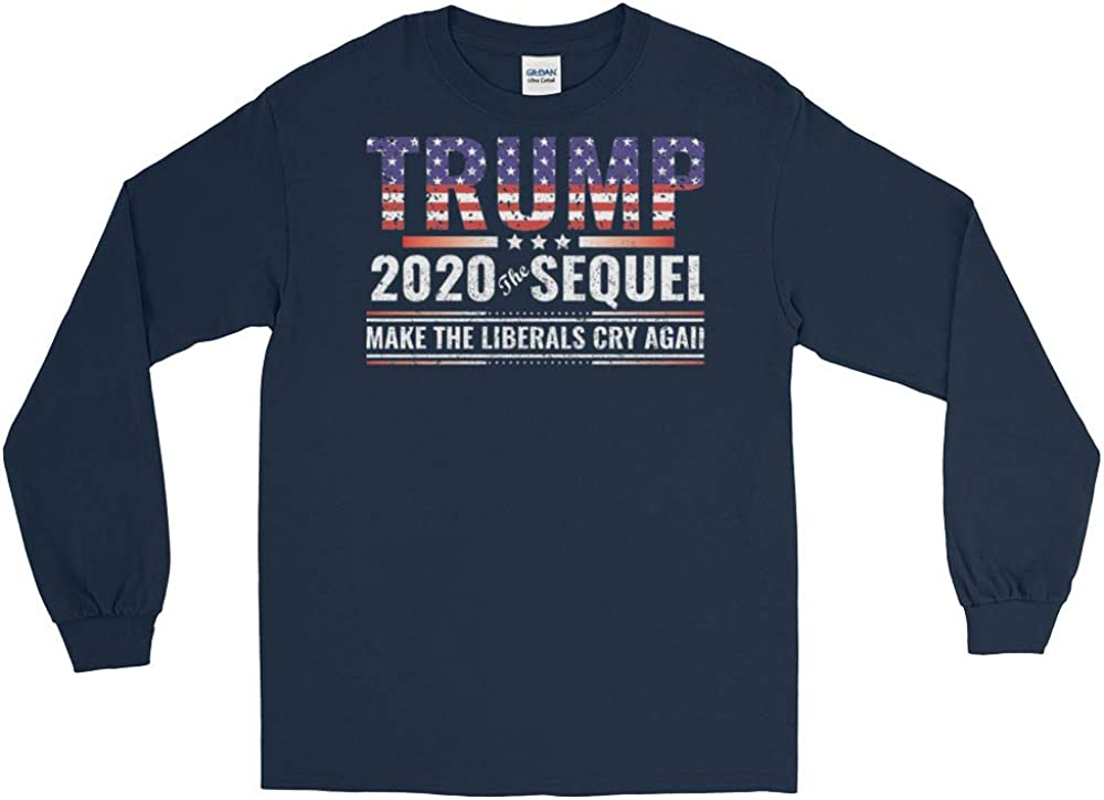 Make Liberals Cry Again Trump 2020 Re-Election Long Sleeve T-Shirt