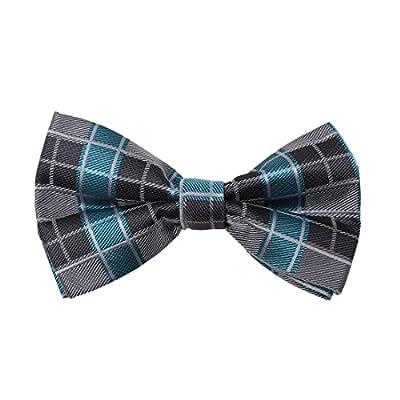 DBD7C.02 Creative Checkers Microfiber Pre-tied Bow Tie For Boyfriends By Dan Smith
