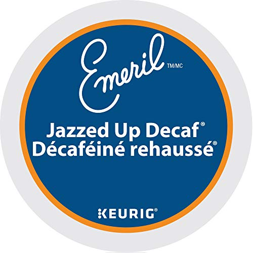 Emeril's Jazzed Up Decaf Coffee, K-Cup Portion Pack for Keurig Brewers 24-Count