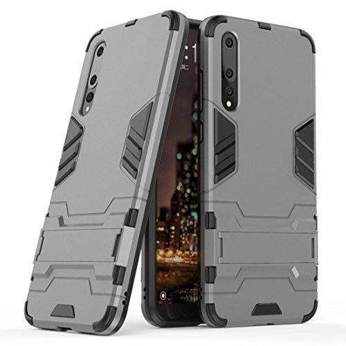 Funda para Huawei P20 Pro (6,1 Pulgadas) 2 en 1 Híbrida Rugged Armor Case Choque Absorción Protección Dual Layer Bumper...