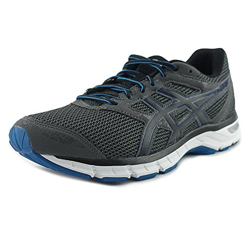Asics Mens Gel-Excite 4 Carbon / Black Electric Blue Ankle-High Running Shoe - 9W (Asics Casual Shoes)