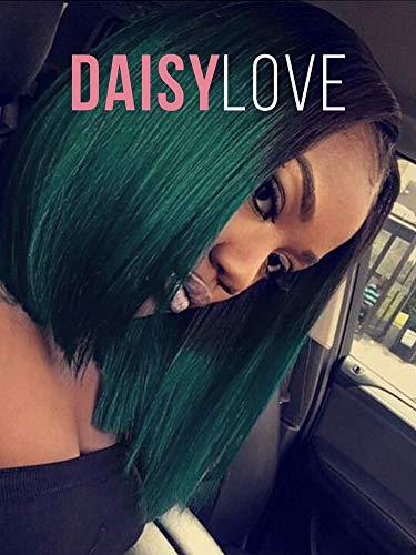 """Daisylove Fashion 12"""" Straight Short BOB Hair Wig"""