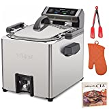 Waring TF250WSFR Electric Rotisserie Turkey Fryer and Deep Fryer Steamer with Cookbook Bundle (Certified Refurbished) (Certified Refurbished) Review