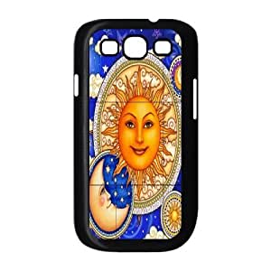Sun Moon Pattern Brand New Cover Case for Samsung Galaxy S3 I9300,diy case cover ygtg542477