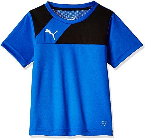 PUMA Kinder T-shirt Esquadra Training Jersey, royal-black, 176, 654379 23