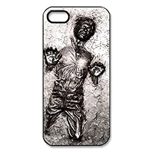 SUUER star wars han solo Personalized Custom Plastic Hard CASE for iPhone 5 5s Durable Case Cover