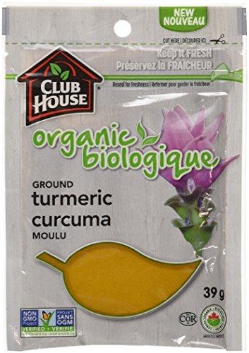 Club House Organic Ground Turmeric 39g