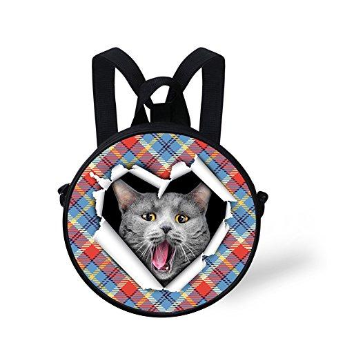 FunnyPrint Shoulder Print Round V6lc4413i Bag Stylish Bag Round fprqcxwfSa