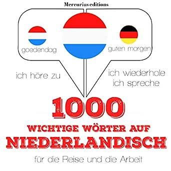 Amazoncom 1000 Wichtige Wörter Auf Niederländisch Für Die