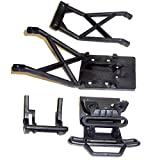 Traxxas Stampede XL-5 VXL Monster Jam BLACK FRONT BUMPER - SKID & WHEELIE BAR by Traxxas