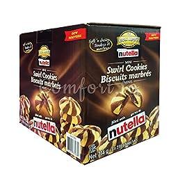 nutella mini swirl cookies