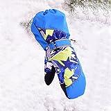 HUAJIAN Boys/Girls Sports Gloves Ski Gloves Cute Warm Gloves Mittens Waterproof Windproof