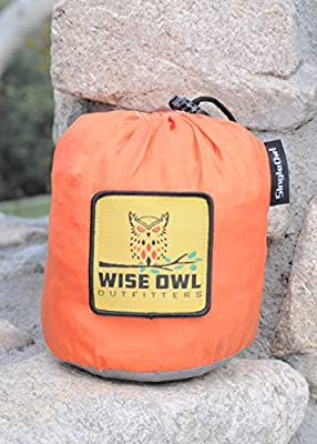 Wise Owl Outfitters SingleOwl Hammock the Best Ultralight Portable High Quality Camp Gear Perfect for Camping Survival Backpacking and Travel