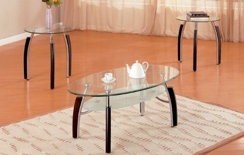 Poundex Living Room Table Sets, Multi