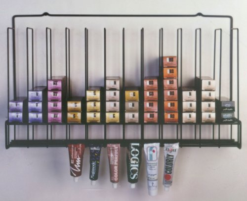 Salon Hair Color Tube Storage Rack by Keller International
