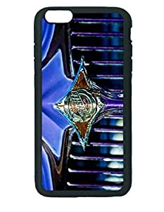 1933 Chrysler Sedan Grille Emblem ~ iphone 5 5s Black Hard Case ~ Silicone Patterned Protective Skin Hard Case Cover for Apple iphone 5 5s with - Haxlly Designs Case
