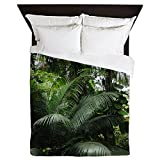 CafePress - Tropical Rainforest - Queen Duvet Cover, Printed Comforter Cover, Unique Bedding, Microfiber