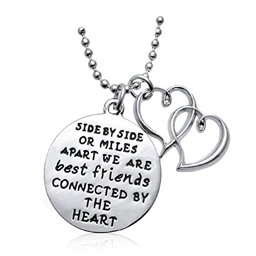 Majesto Inspirational Necklace for Women Teen Girls - Best Friends Fashion Jewelry Pendant - Prime Gifts