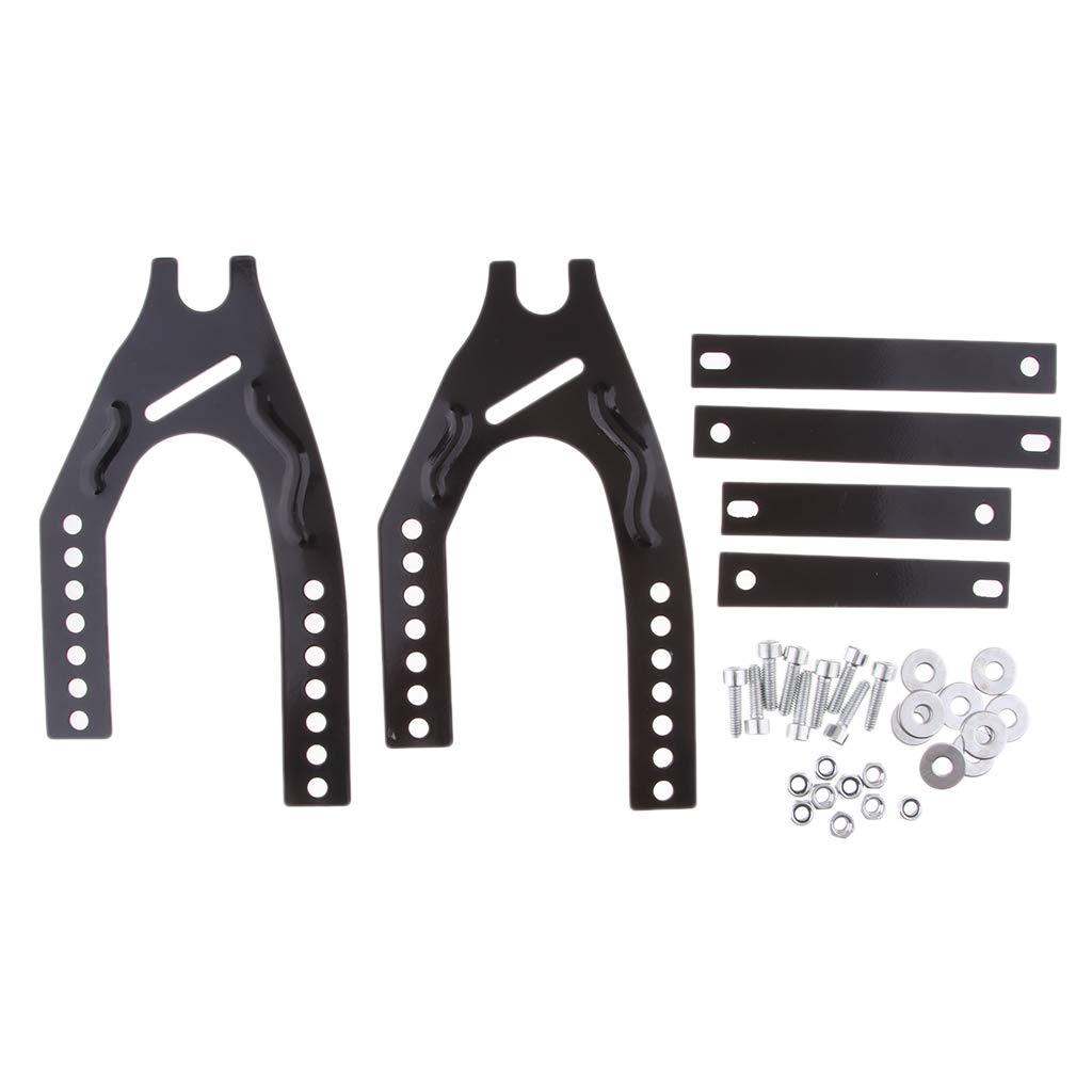 Homyl Kit di Parafango Posteriore Paraspruzzi Universale in Plastcia Accessori di Moto