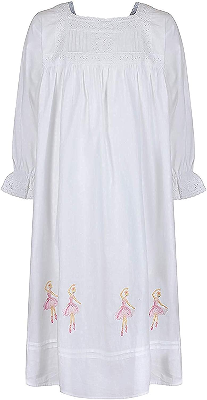 The 1 for U 100/% Coton Filles Chemise de Nuit Ballerine Nuisette /Âge 4-12 Sophie