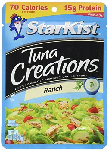 - StarKist Tuna Creations Ranch, 2.6 oz