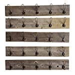Coat Rack Made from Rustic Reclaimed Wood