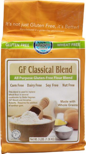 Authentic Foods Gluten Free Classical Blend -- 3 (Authentic Foods Gluten Free)