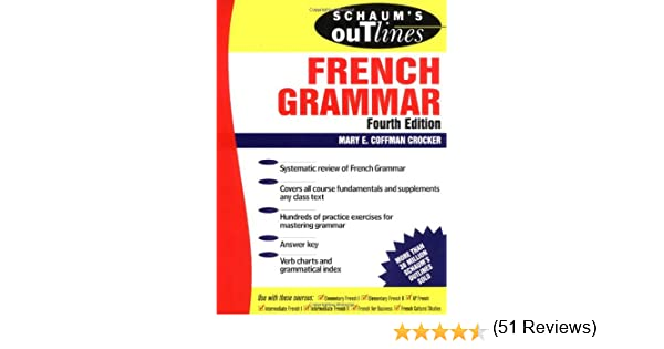 Amazon.com: Schaum's Outline of French Grammar (0639785308188 ...