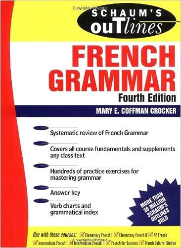 Amazon.com: Schaum's Outline of French Grammar (0639785308188 ...