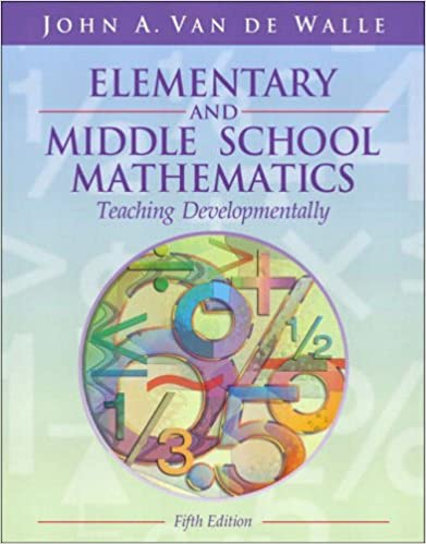 Amazon elementary and middle school mathematics teaching amazon elementary and middle school mathematics teaching developmentally fifth edition 9780205386895 john a van de walle books fandeluxe Image collections