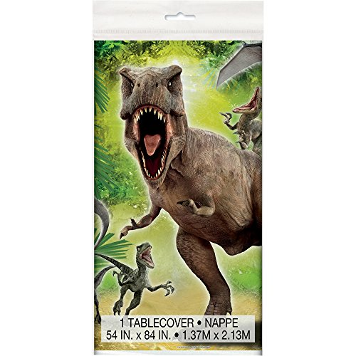 Plastic Jurassic World Tablecloth, 84