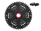 JGbike Sunrace 11-46T 10 Speed Cassette CSMX3 Wide Ratio MTB Cassette,for Shimano or sram derailleur