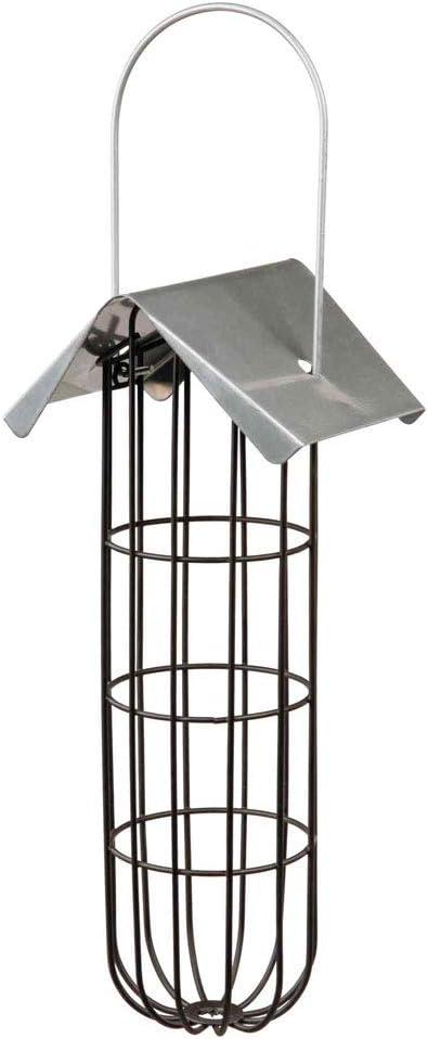 TRIXIE Comedero Bolas de Grasa, 11 × 25 × 10 cm, Negro, Pájaros