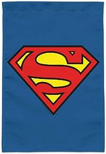 GRAPHICS & MORE Superman Classic S Shield Logo Garden Yard Flag