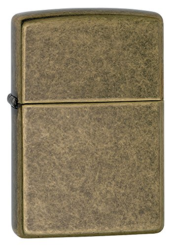 Zippo Antique Brass Lighter - 4