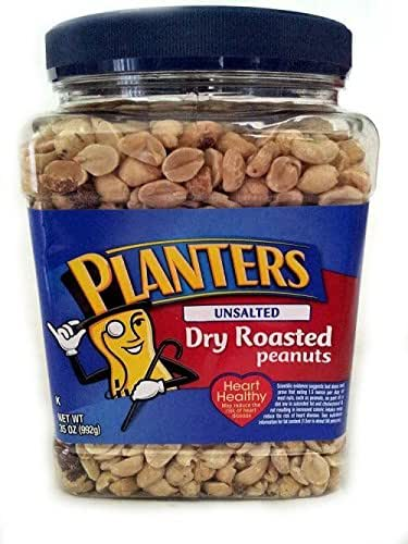 Nuts & Seeds: Planters Dry Roasted Peanuts Unsalted