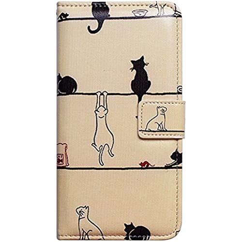 Casea Packing Bcov Black Cat White Cat Leather Wallet Cover Case For Samsung Galaxy S7 Edge Sales